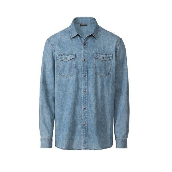 پیراهن آستین بلند مردانه لیورجی مدل MPB2