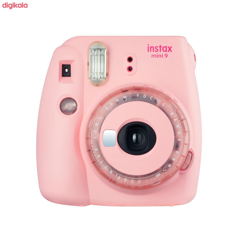 دوربین عکاسی چاپ سریع فوجی فیلم مدل Instax Mini 9 Clear main 1 2
