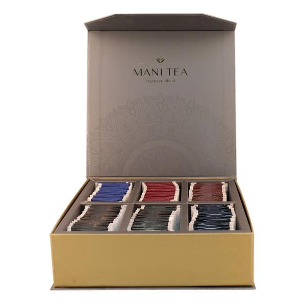 چای کیسه ای مخلوط چای مانی مجموعه 120 عددی