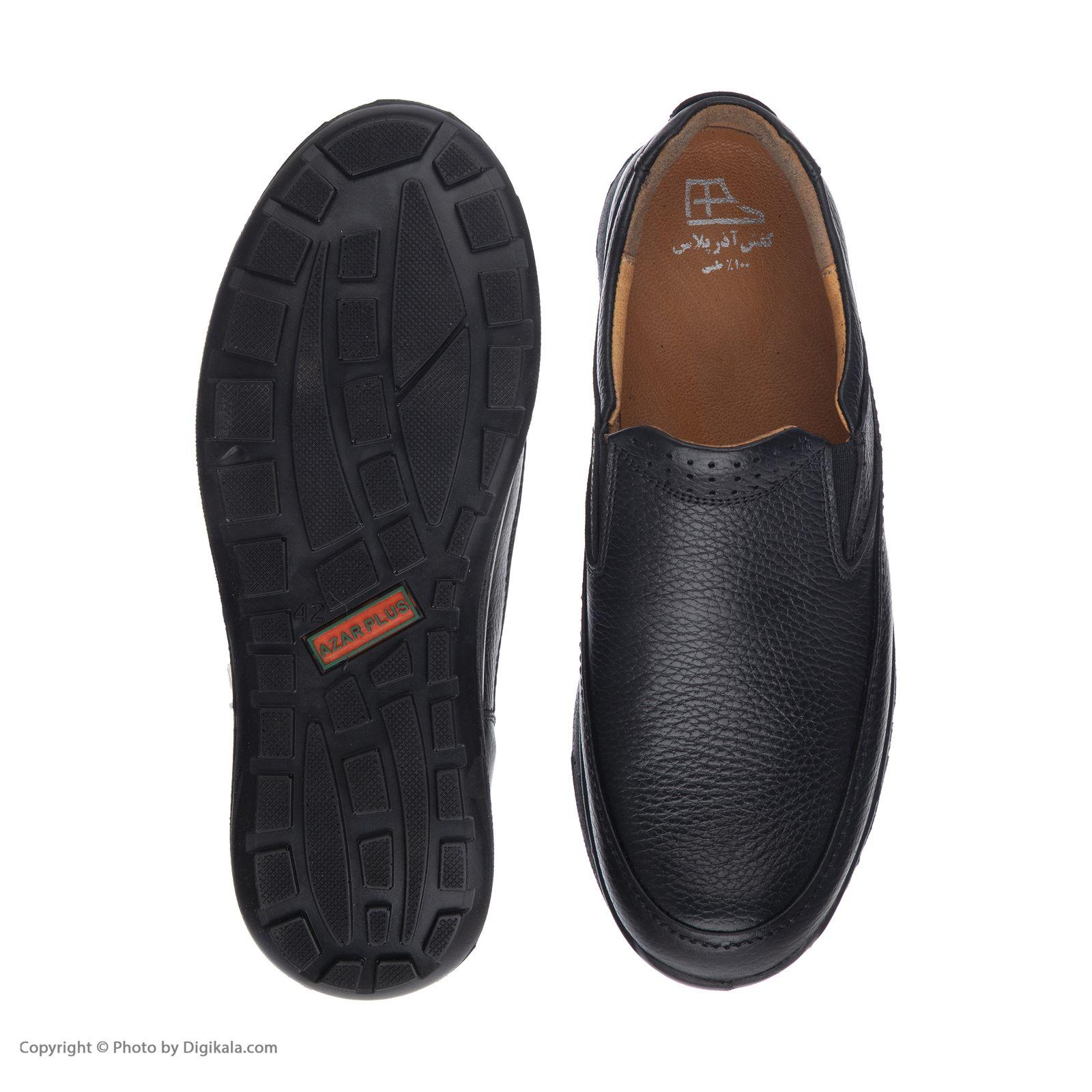 کفش روزمره مردانه آذر پلاس مدل 4401A503101 -  - 5