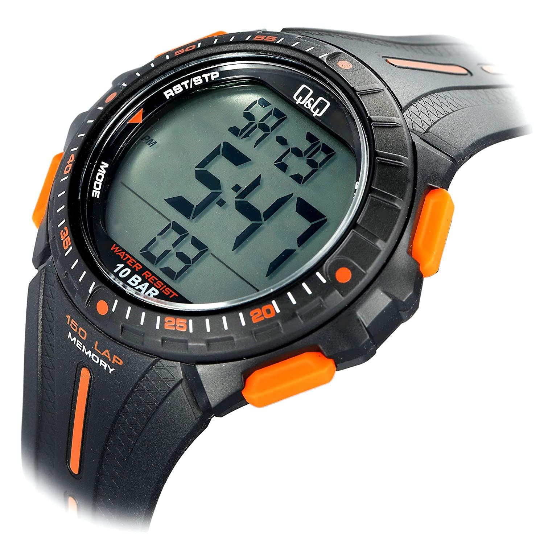 ساعت مچی دیجیتال مردانه کیو اند کیو مدل M102J002Y