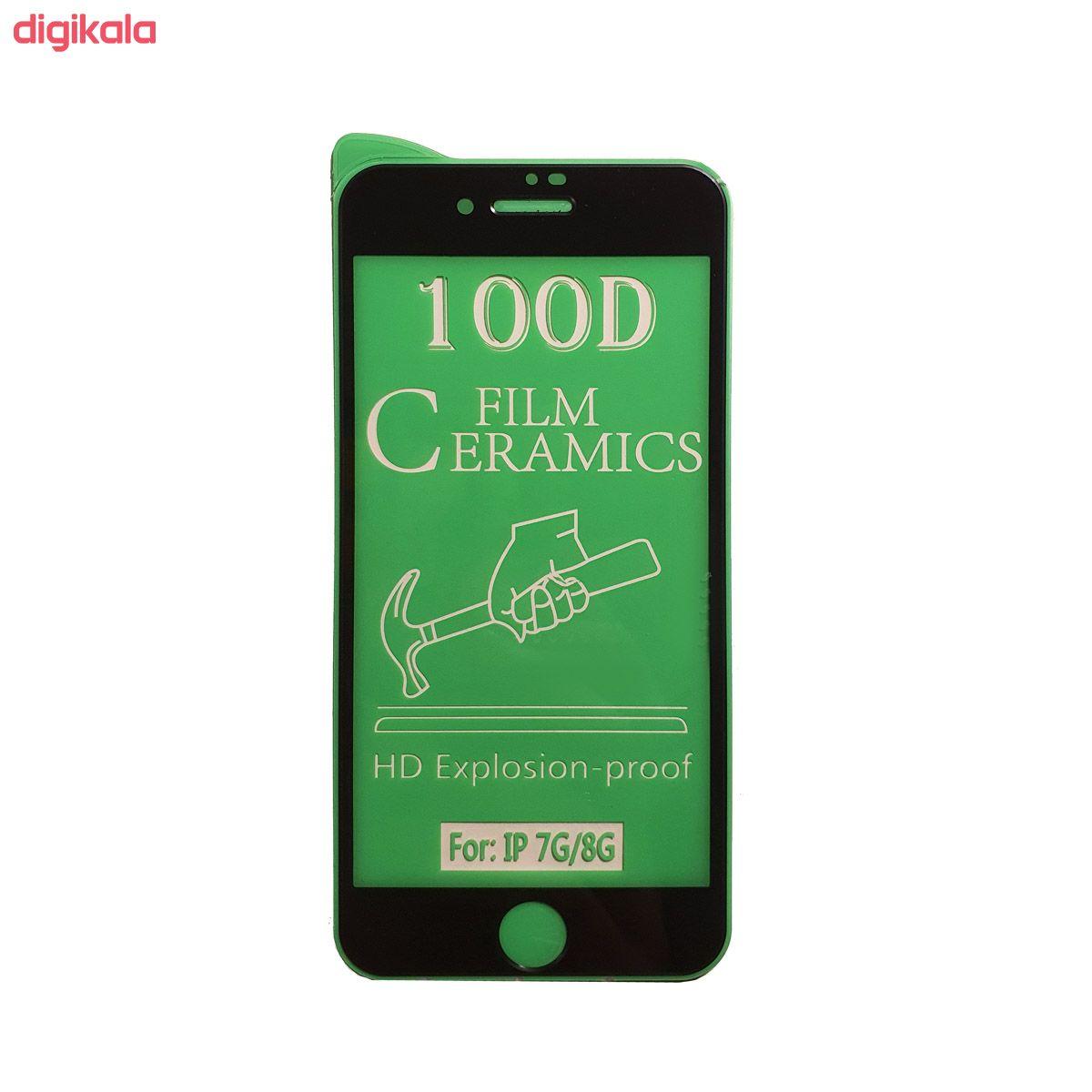 محافظ صفحه نمایش سرامیکی مدل FLCRG01to مناسب برای گوشی موبایل اپل iPhone 7  main 1 2
