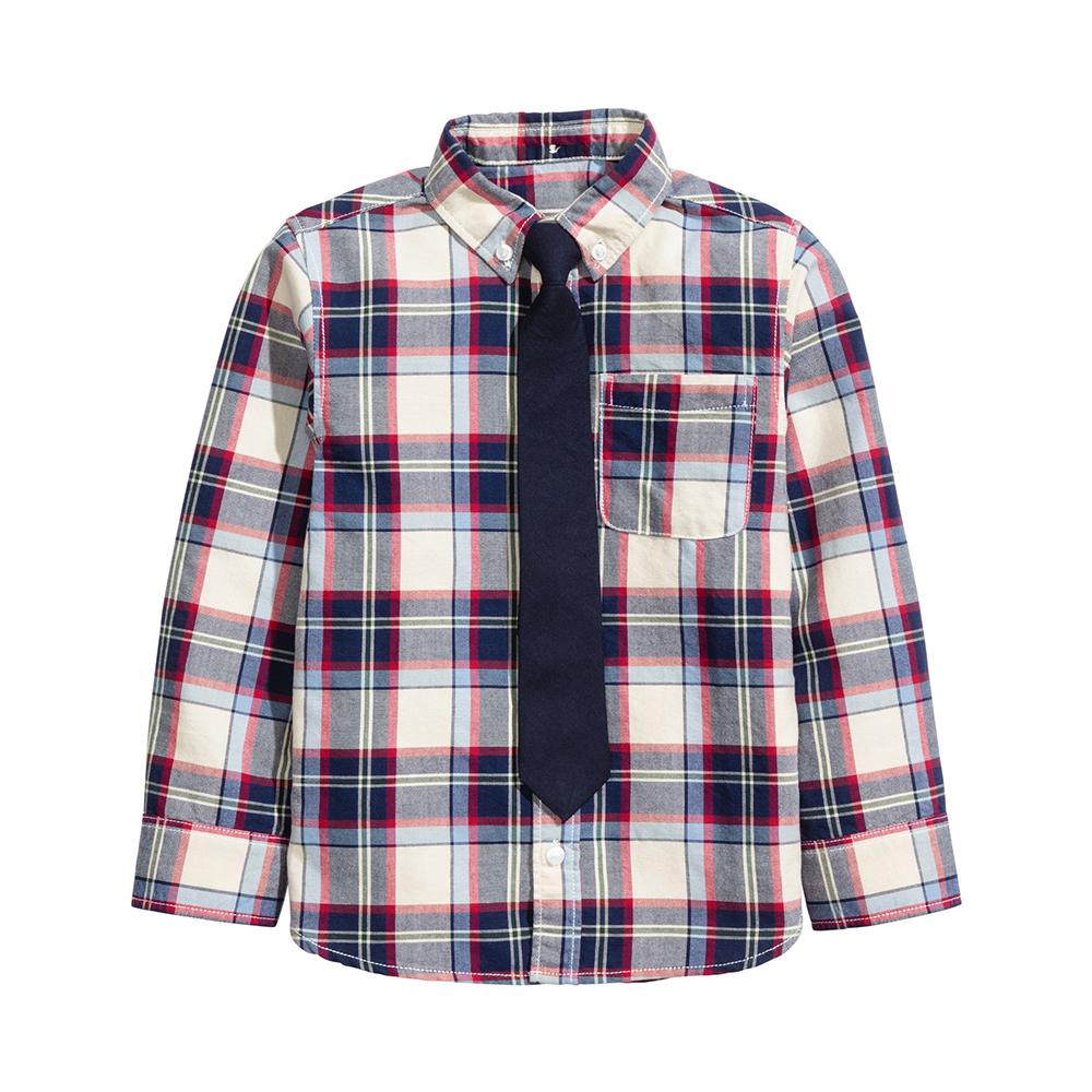 ست پیراهن و کراوات پسرانه اچ اند ام مدل 0383885