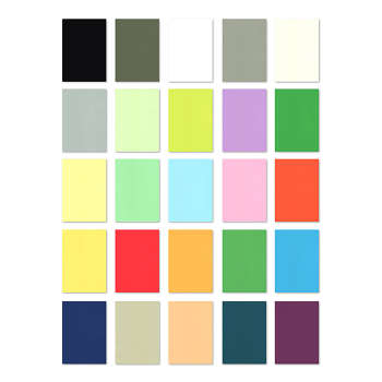 کاغذ رنگی A4 کد GSM120 بسته 25 عددی