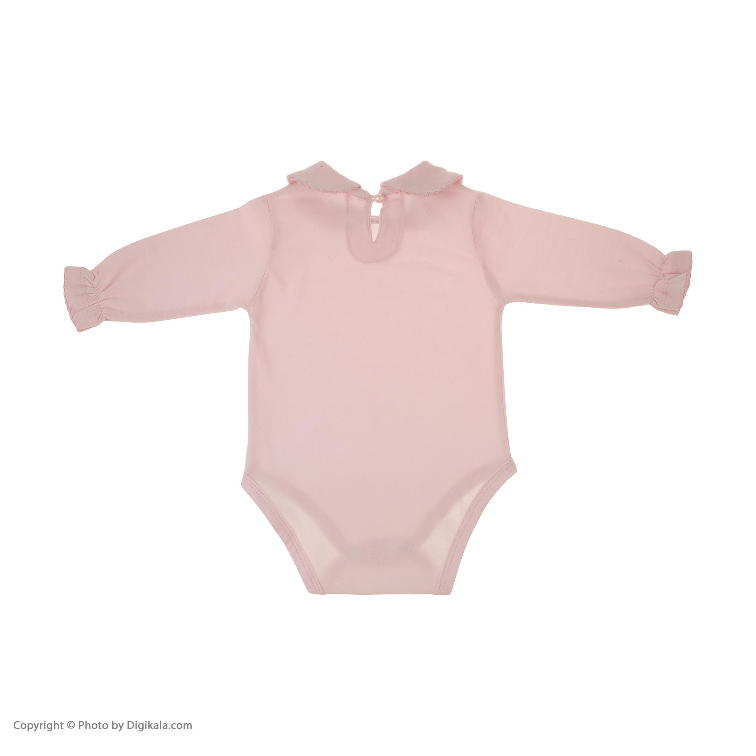 بادی نوزادی دخترانهنونا مدل 221110329-84 -  - 3
