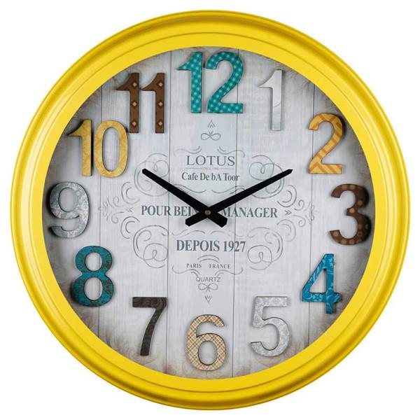 ساعت دیواری لوتوس مدل 16012