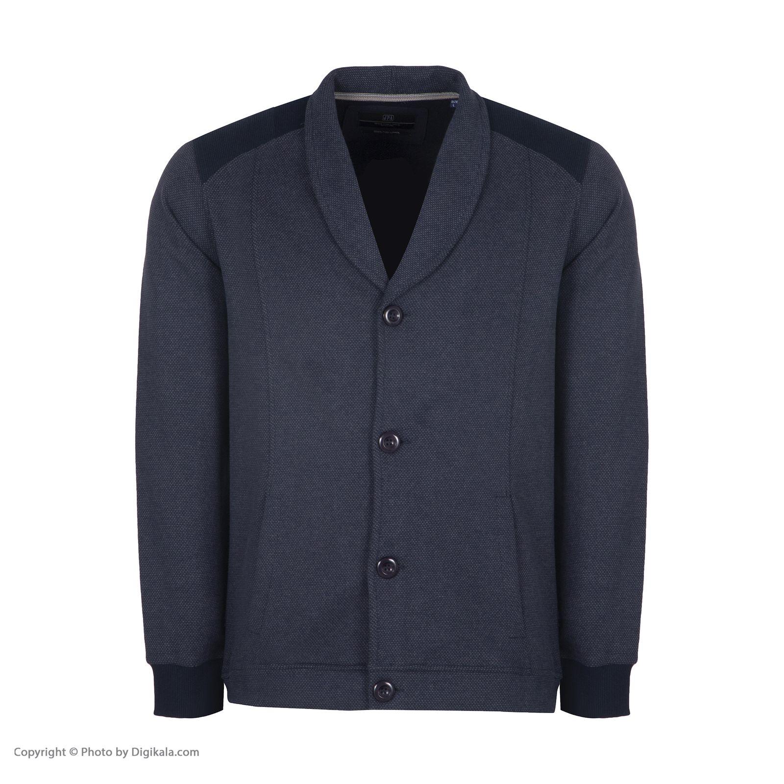 تصویر ژاکت مردانه جامه پوش آرا مدل 4581178152-58