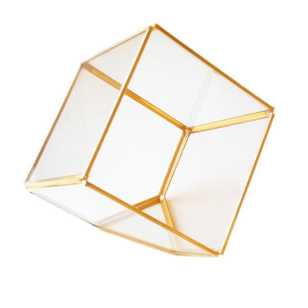 باکس شیشه ای مدل تراریوم مکعب کد 56