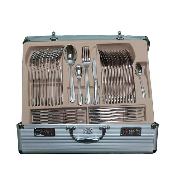 سرویس قاشق و چنگال 144 پارچه ای تی سی  مدل  A24