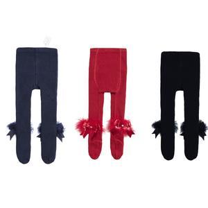جوراب شلواری نوزادی فیورلا مدل 2002 مجموعه 3 عددی
