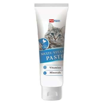 خمیر مالت گربه پتالپین مدل multi_vitamin وزن 110 گرم