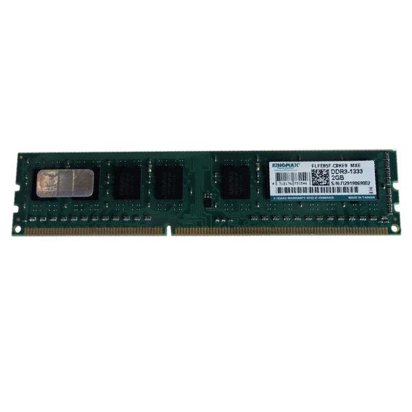 رم دسکتاپ DDR3 تک کاناله 1333 مگاهرتز CL9 کینگ مکس مدل C8KM9 ظرفیت 2 گیگابایت