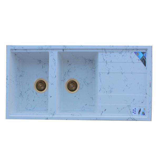 سینک ظرفشویی پارادایز مدل 214NEWWTRT توکار