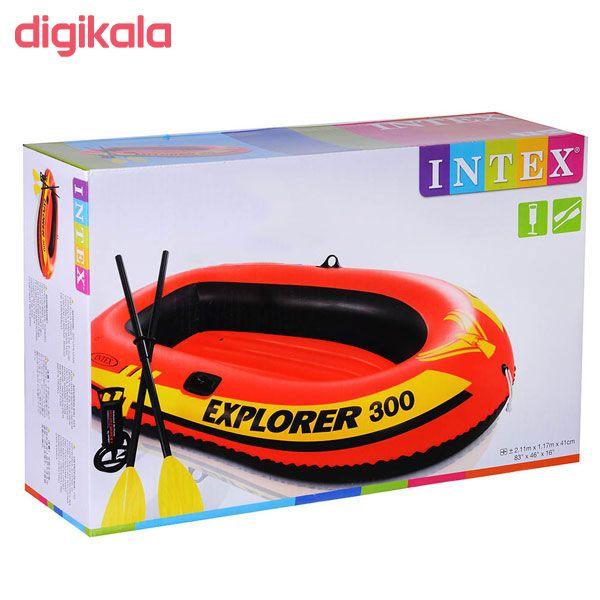 قایق بادی اینتکس طرح اکسپلور 300 مدل 58332 main 1 1