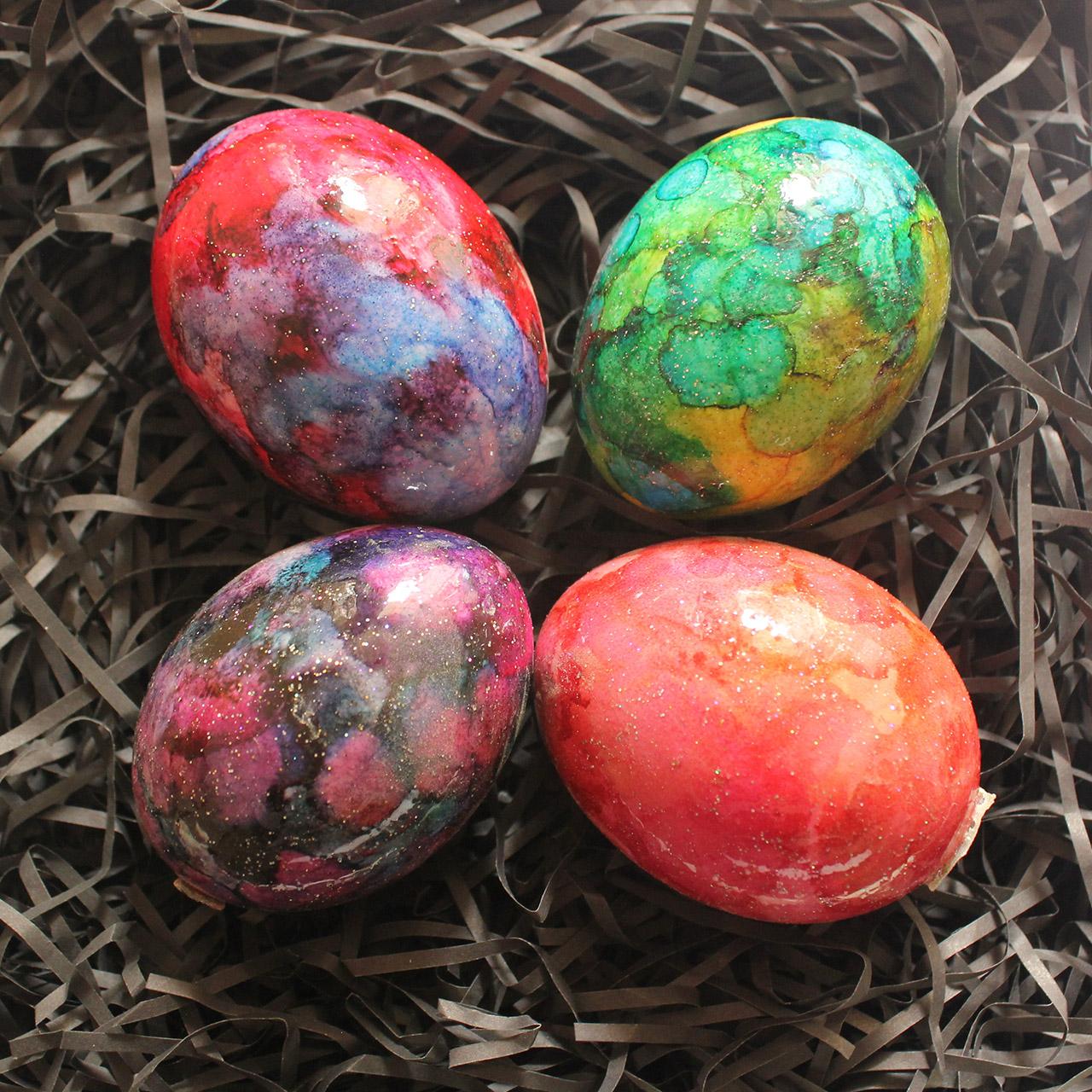 تخم مرغ تزیینی مدل کهکشان