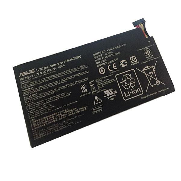 باتری تبلت مدل c11-me370tg ظرفیت 4270 میلی آمپرساعت مناسب برای تبلت ایسوس google nexus7                     غیر اصل