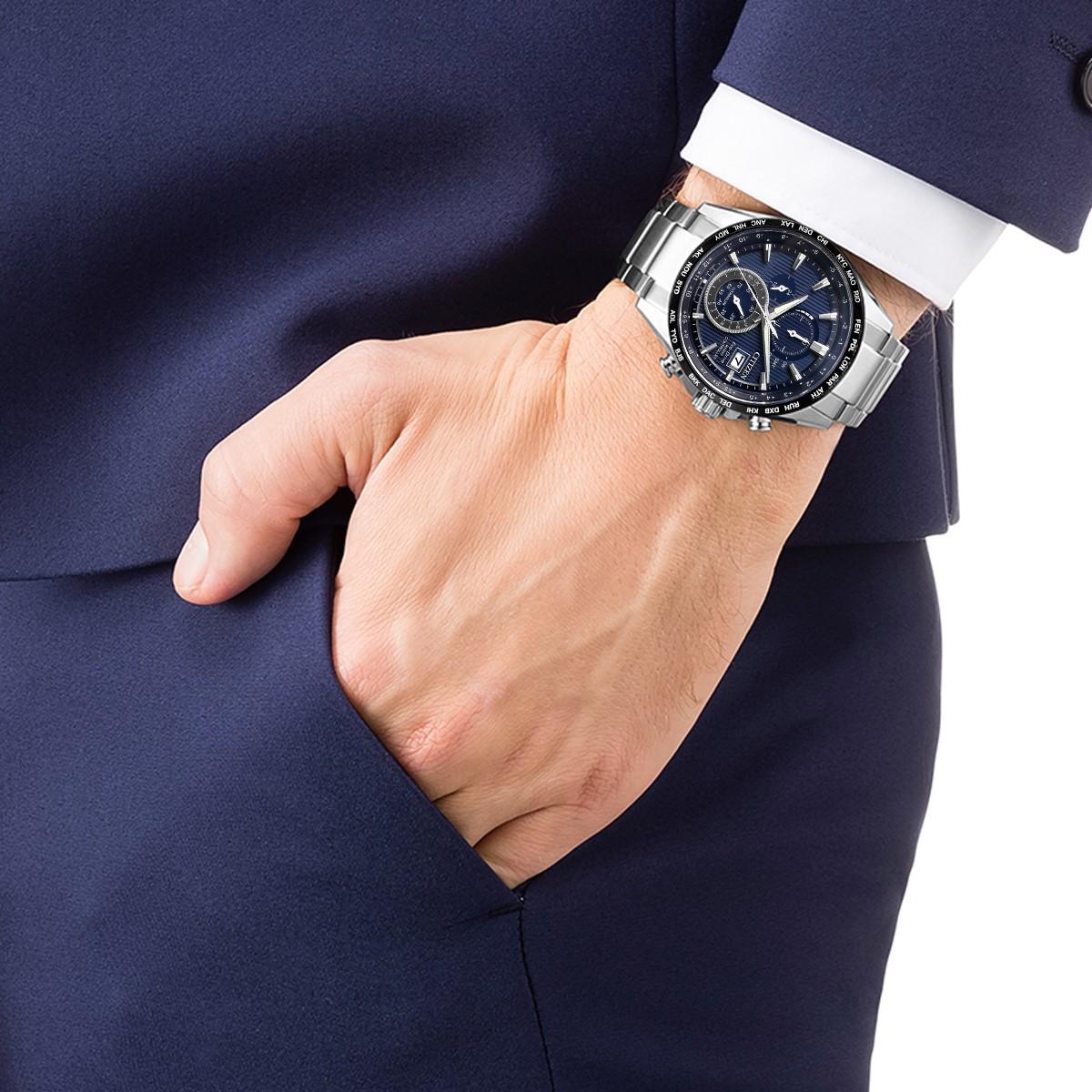 ساعت مچی عقربهای مردانه سیتی زن مدل AT8154-82L