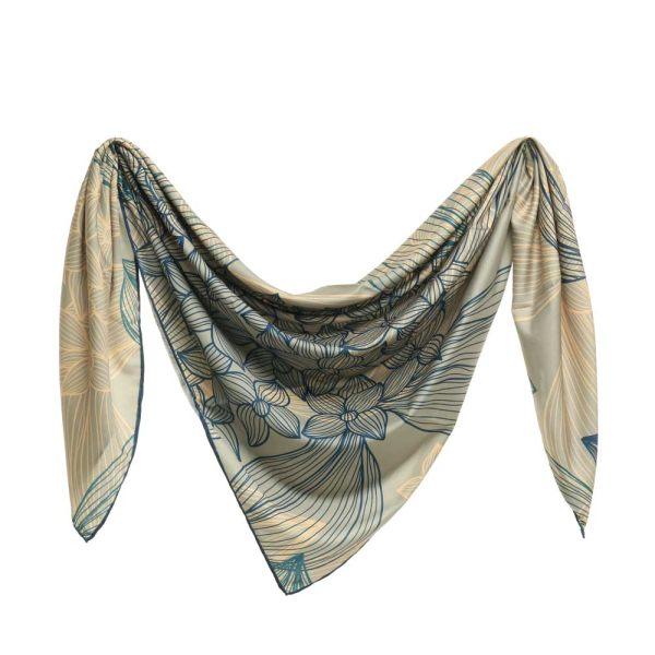 روسری زنانه نوولاشال مدل 044558