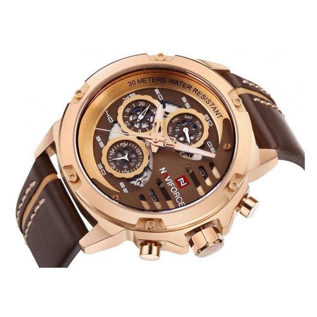ساعت مچی عقربه ای مردانهنیوی فورس  مدل 10-91 -  - 7