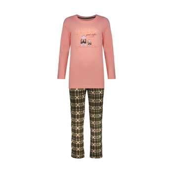 ست تی شرت و شلوار راحتی زنانه ناربن مدل 1521283-21