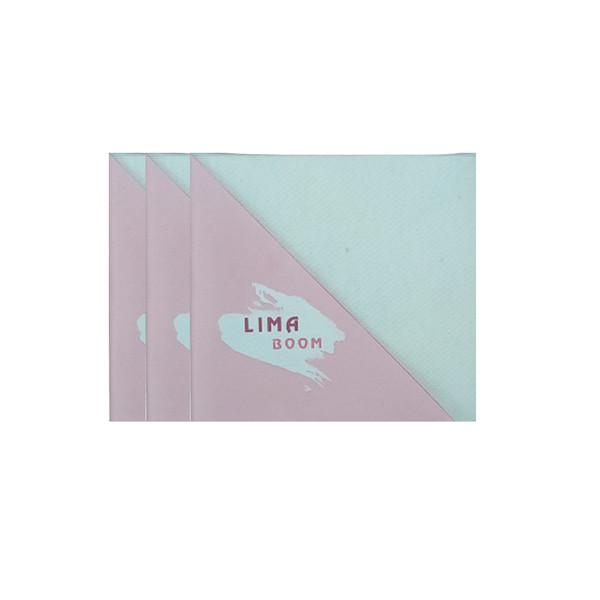 بوم نقاشی لیما بوم مدل انگشتی سایز 10x10 سانتی متر بسته 3 عددی