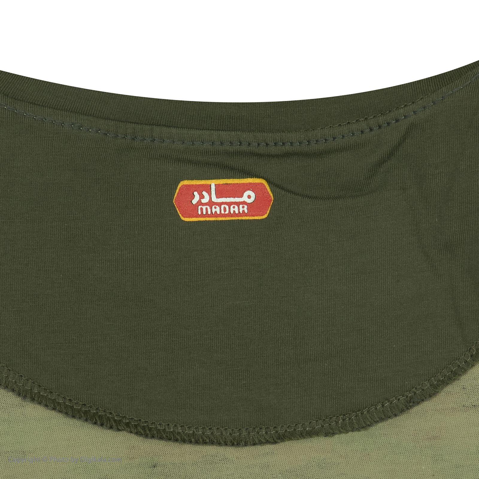 ست تی شرت و شلوارک راحتی مردانه مادر مدل 2041108-49 -  - 12