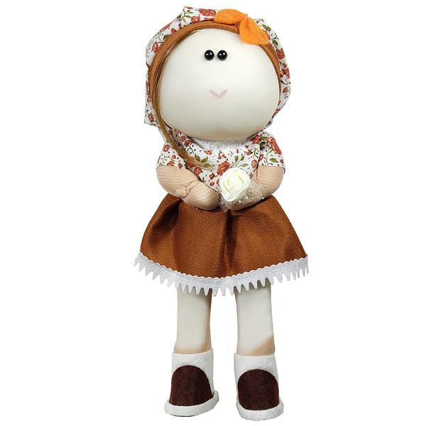عروسک طرح دختر روسی کد 2524 ارتفاع 24 سانتی متر