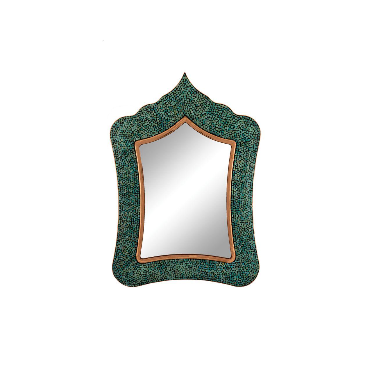 آینه فیروزه کوبی مسجدی مدل F119 کد 01