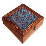 جعبه هدیه چوبی مدل CG81