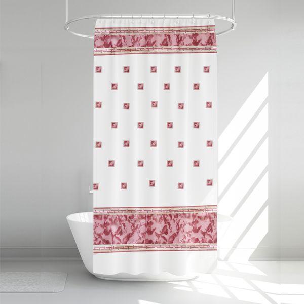 پرده حمام آرمیتا کد W018 سایز 180 × 200 سانتی متر