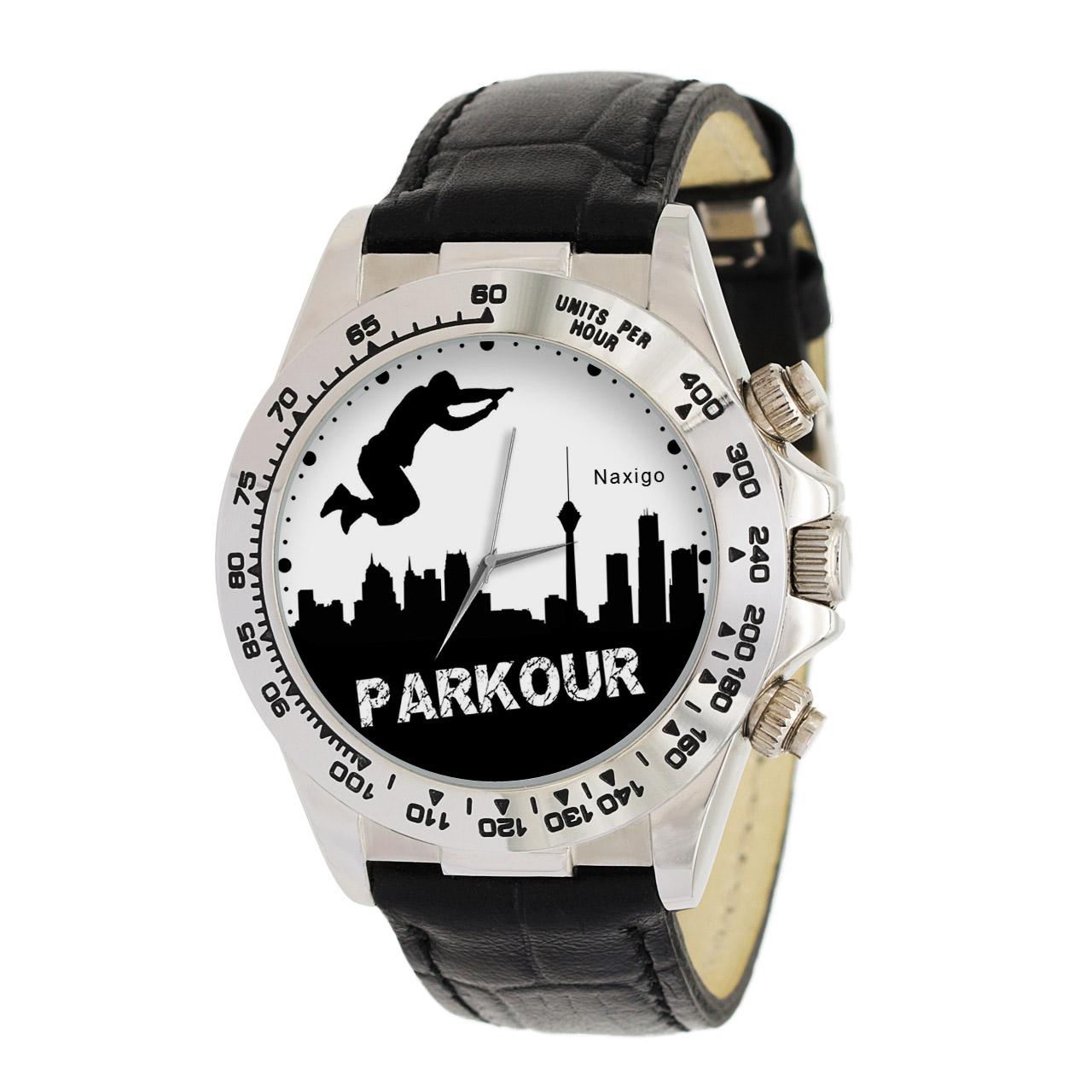 ساعت مچی  مردانه ناکسیگو طرح پارکور کد LS3550