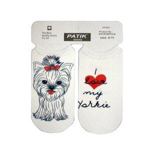 جوراب دخترانه طرح سگ کد 4