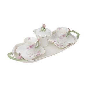 سرویس چای خوری 6 پارچه بی.وی.کی مدل L96