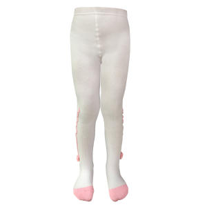 جوراب شلواری دخترانه مدل شکوفه 2020