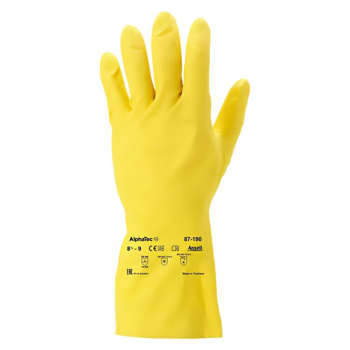 دستکش نظافت انسل مدل 87-190