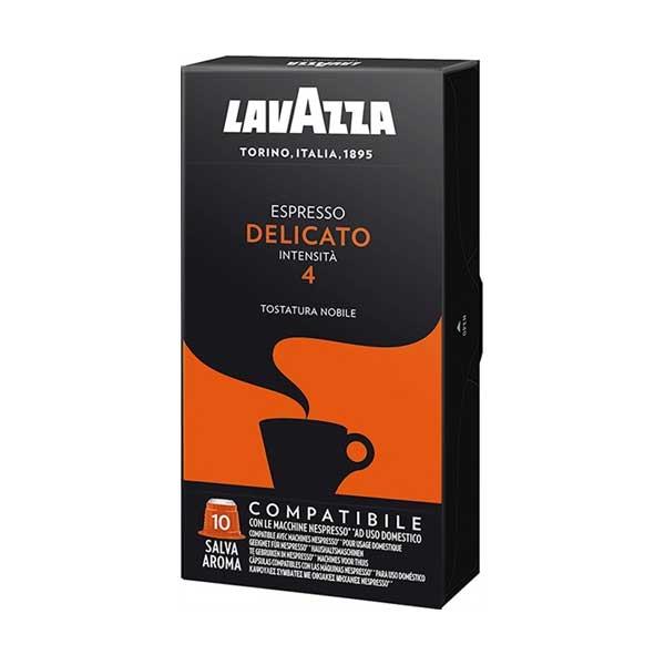 کپسول قهوه اسپرسو دلیکاتو لاواتزا بسته 10 عددی