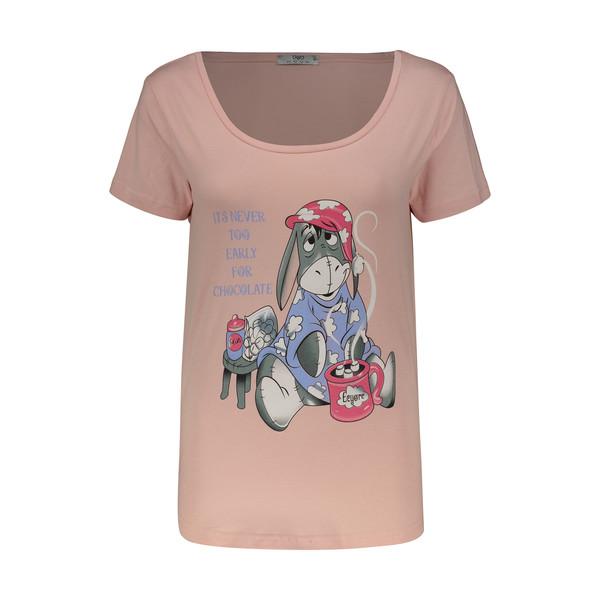 تی شرت زنانه مون مدل 163120484LG