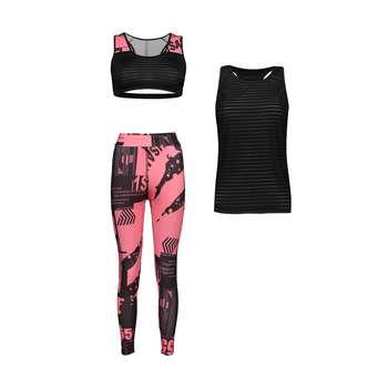 ست 3 تکه لباس ورزشی زنانه کد Mhr-456