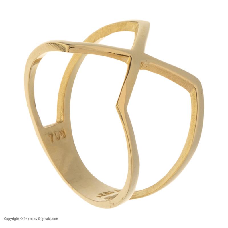 انگشتر طلا 18 عیار زنانه مدیسا مدل R1009-53