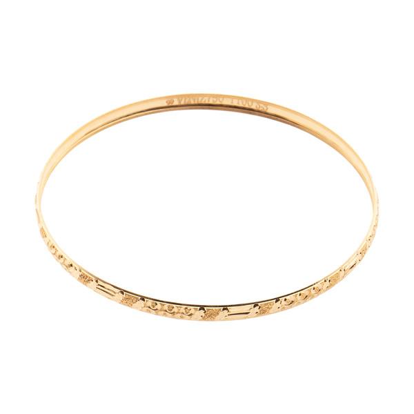 دستبند طلا 18 عیار زنانه مدیسا مدل B3020