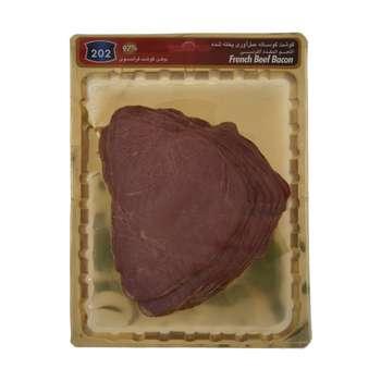 بیکن 97 درصد گوشت فرانسوی 202 وزن 250 گرم