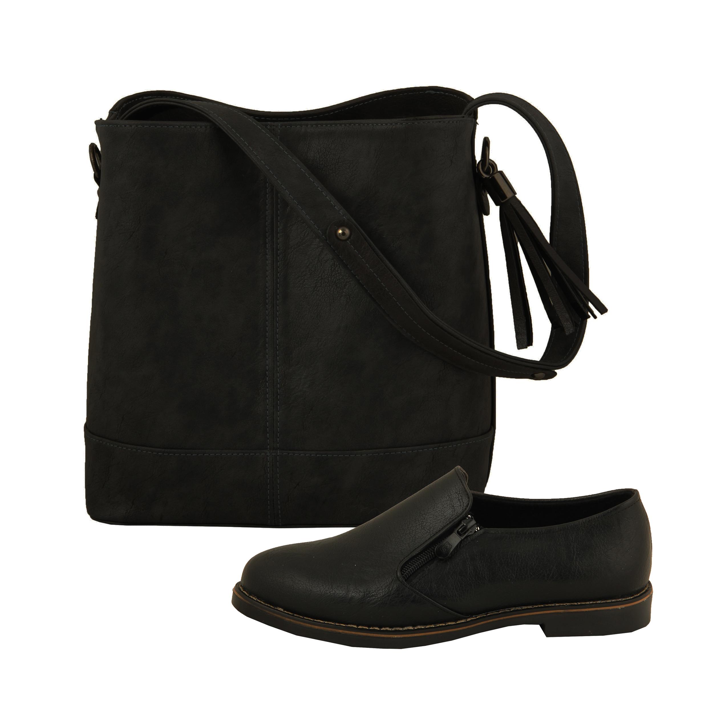 ست کیف و کفش زنانه BAB مدل ترنم کد 910-5 thumb