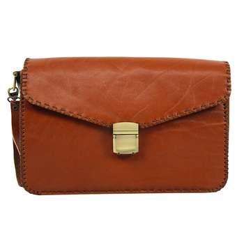 کیف دستی چرمی مدل امید کد 03
