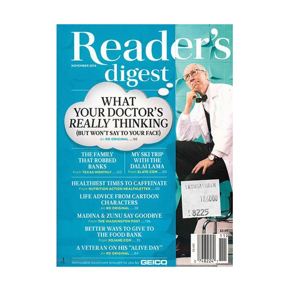 مجله Readers Digest - نوامبر 2014