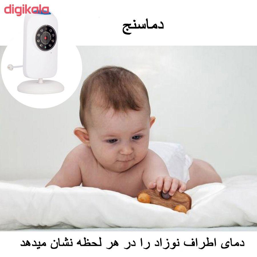 پیجر تصویری اتاق کودک ماترون مدل baby monitor main 1 3