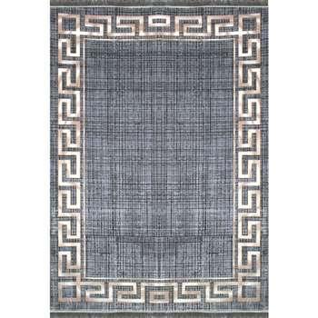 فرش ماشینی افرند طرح پتینه کد 6616