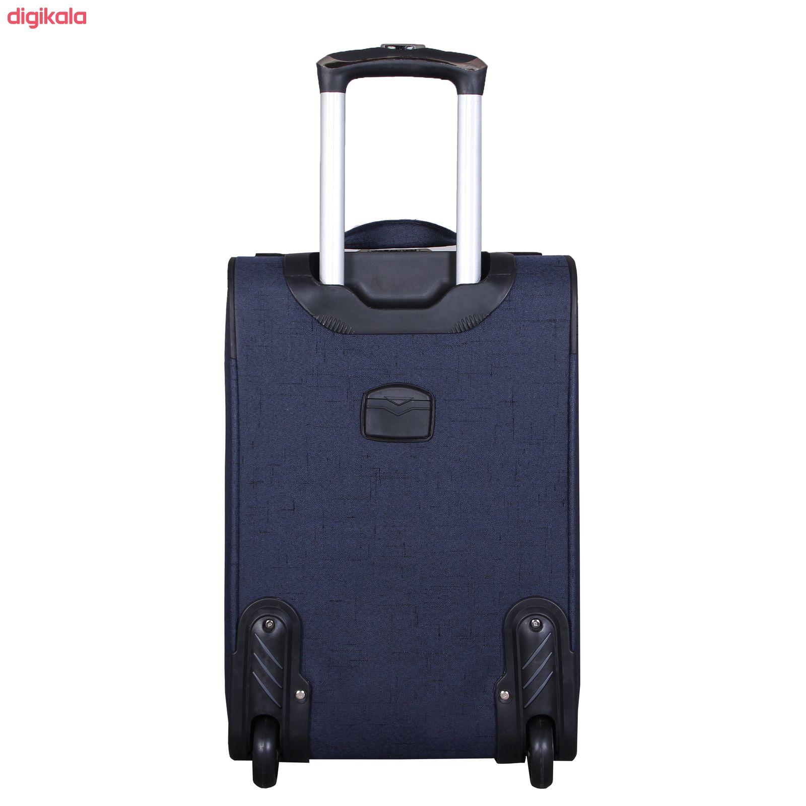 مجموعه سه عددی چمدان کد 2301A main 1 12