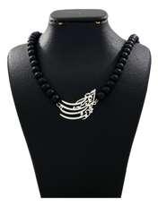 گردنبند نقره زنانه دلی جم طرح تو ماهی و من ماهی این برکه کاشی کد D 87 -  - 1