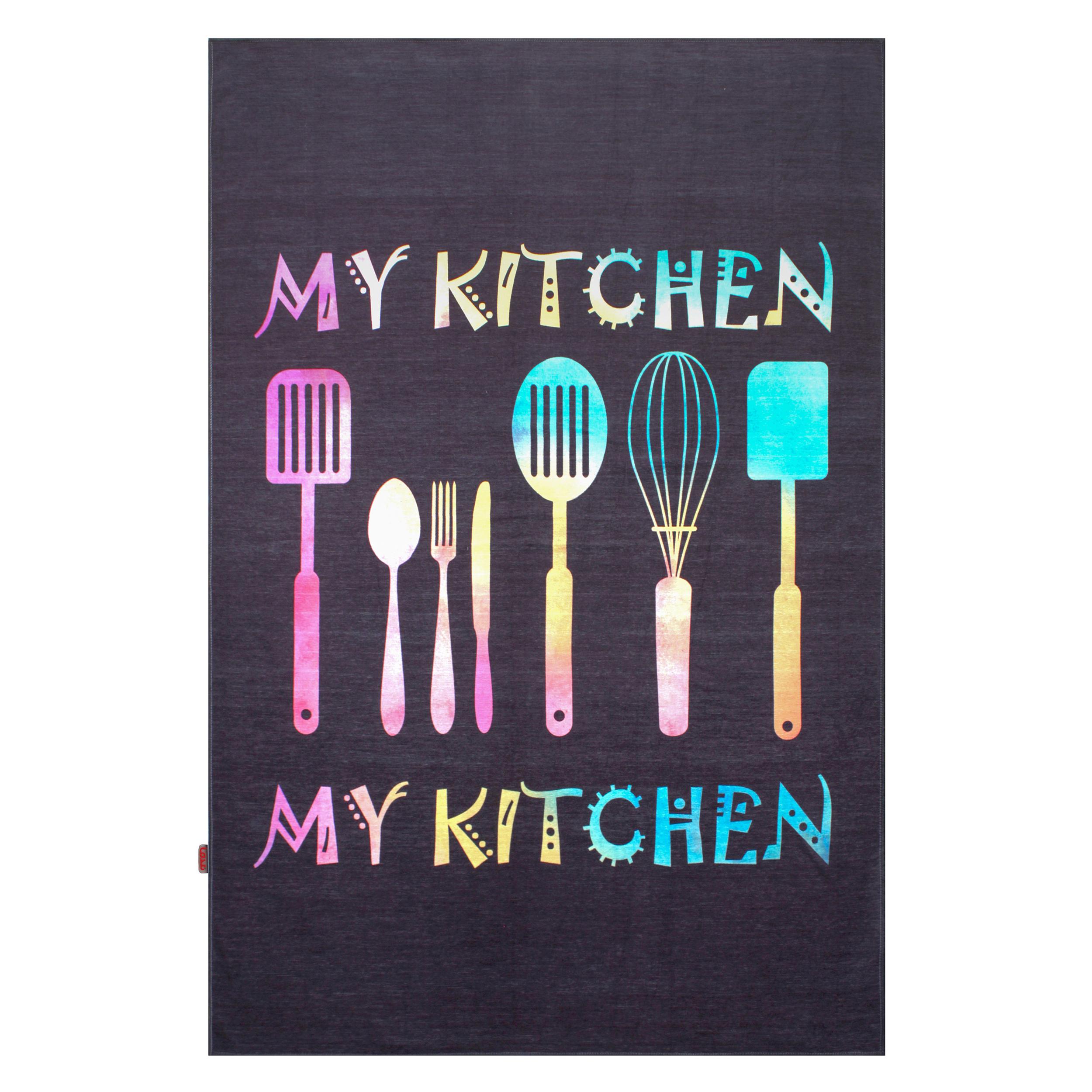 فرش ماشینی  مدما مدل آشپزخانه کد 1042