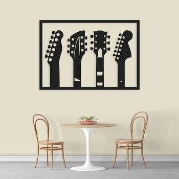استیکر دیواری طرح گیتار